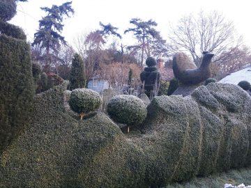 snow topiary