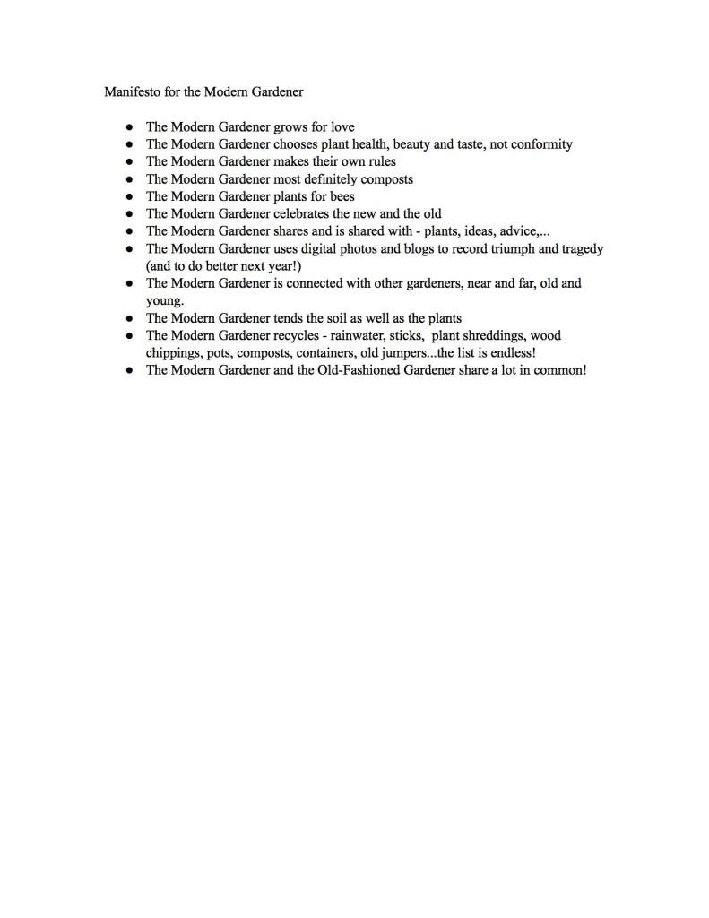 Manifesto Tuckshop Flowers