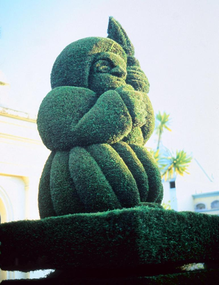 not easy topiary figure