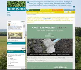 Press Talking Grass