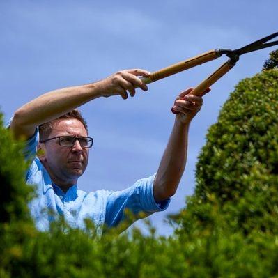 Topiary Artist Darren Lerigo